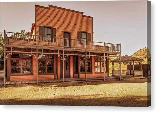 Paramount Ranch Saloon Canvas Print