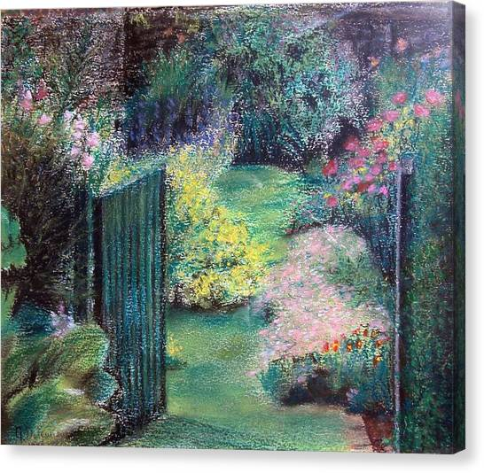 Parc Canvas Print by Muriel Dolemieux