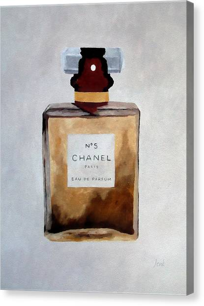 Oil Canvas Print - Parfum No.5 by My Inspiration