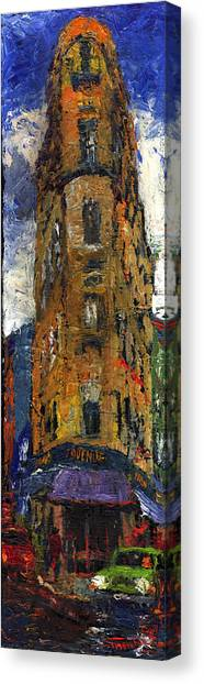 Canvas Print - Paris Hotel 7 Avenue by Yuriy Shevchuk