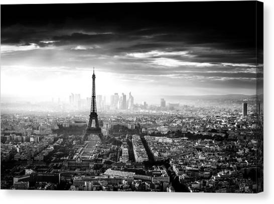 Paris Canvas Print - Paris by Jaco Marx