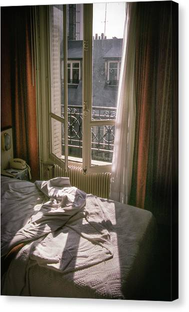 Paris Morning Canvas Print