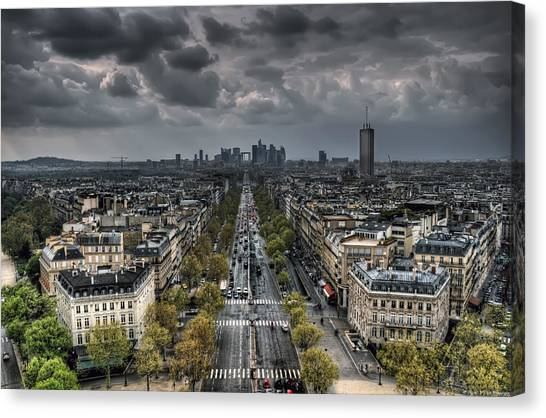 Paris No. 2 Canvas Print