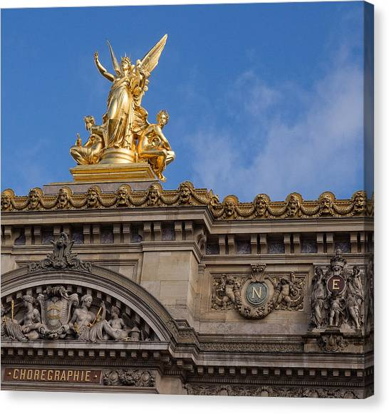 Paris Opera - Harmony Canvas Print