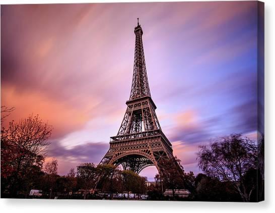 Paris Pastels Canvas Print