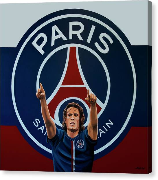Goal Canvas Print - Paris Saint Germain Painting by Paul Meijering