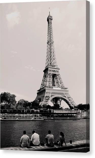Paris Canvas Print by Sarah Jean Sylvester