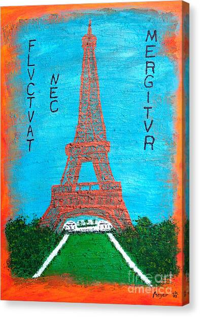 Paris Canvas Print by Sascha Meyer