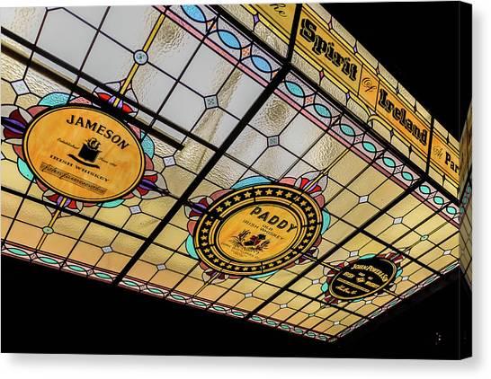 Smokehouses Canvas Print - Paris Texas Bar - Kilkenny Ireland by Jon Berghoff