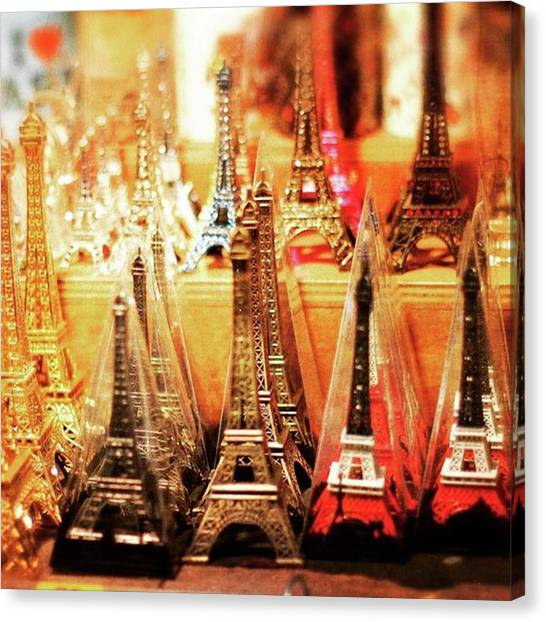 French Canvas Print - Parisian Trinkets   #paris #france by Heidi Hermes