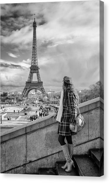 Parisien 2 Canvas Print
