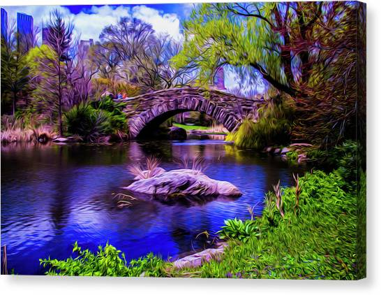 Park Bridge Canvas Print