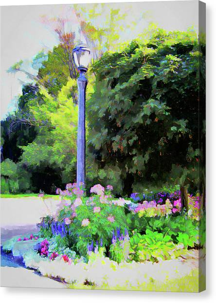 Park Light Canvas Print