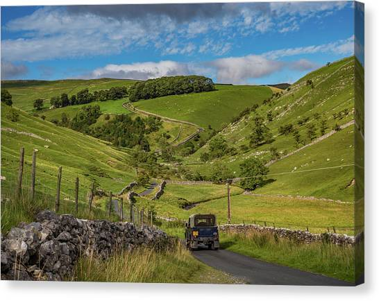 Park Rash Canvas Print by Yorkshire In Colour