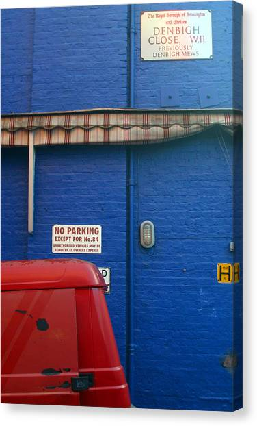 Park Thee Not Canvas Print by Jez C Self