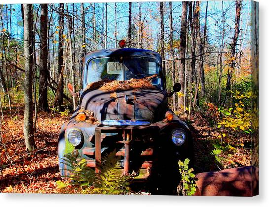 Parked Canvas Print by Tom Johnson
