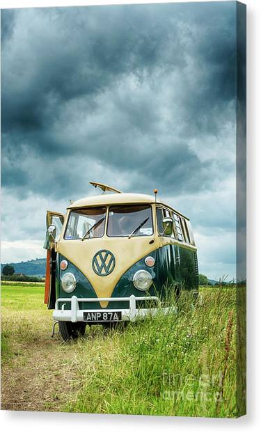 Rainclouds Canvas Print - Parked Up by Tim Gainey