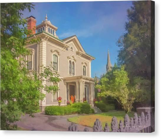 Parker House North Easton Canvas Print