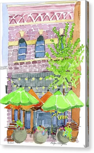 Parker's Bistro Canvas Print