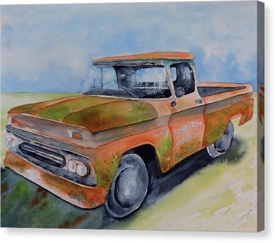 Parker's Farm Pick Up Canvas Print