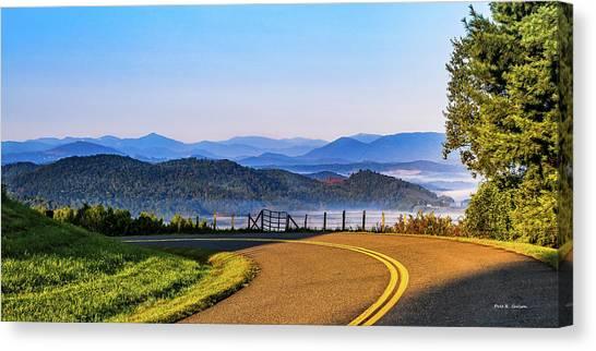 Parkway Morning Vista Canvas Print