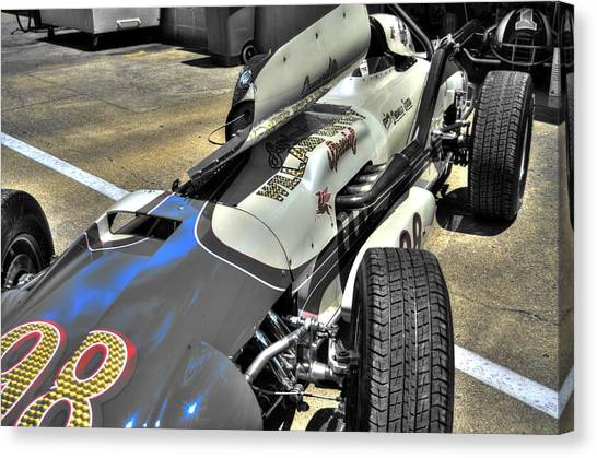 Parnelli Jones Watson Roadster 1963 Canvas Print