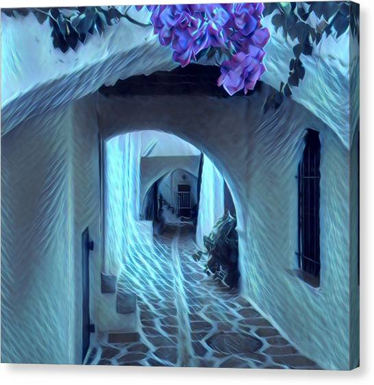 Paros Island Beauty Canvas Print