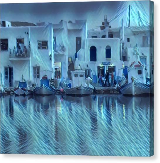 Paros Island Beauty Greece Canvas Print