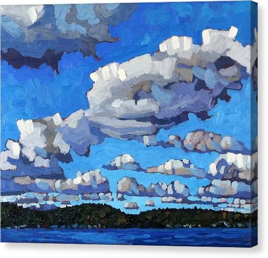 Tree Canvas Print - Parry Sound Cumulus by Phil Chadwick