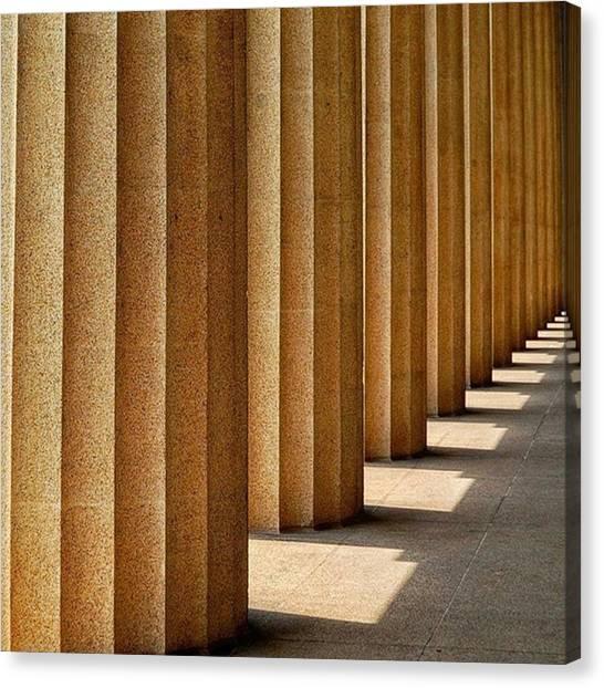 The Parthenon Canvas Print - Parthenon Nashville Tn  #parthenon by Will Ross