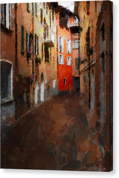 Parting Canvas Print