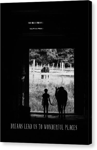Partners Quote Canvas Print by JAMART Photography