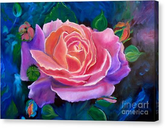 Gala Rose Canvas Print