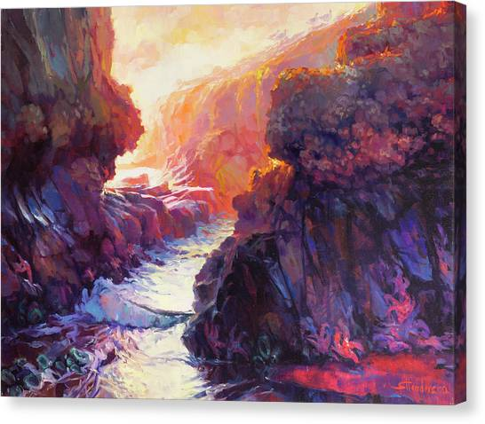 Starfish Canvas Print - Passage by Steve Henderson