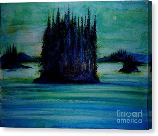 Passing Land Of British Columbia  Canvas Print by Anna  Duyunova