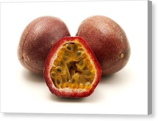 Passion Fruits Canvas Print