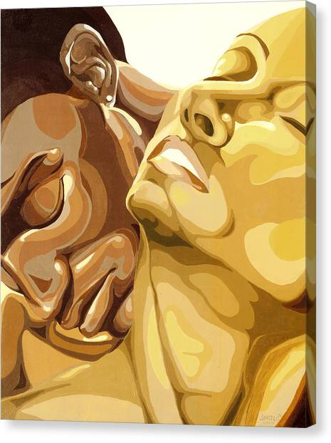 Passion Canvas Print by Lamark Crosby