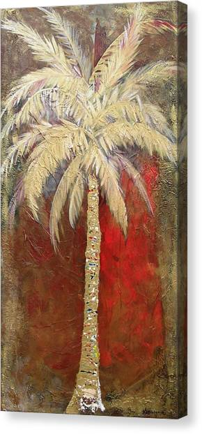 Passion Palm Canvas Print