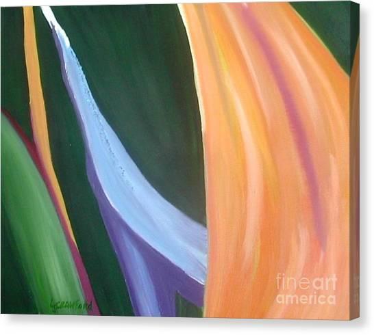 Passion Unfolding 1 Canvas Print
