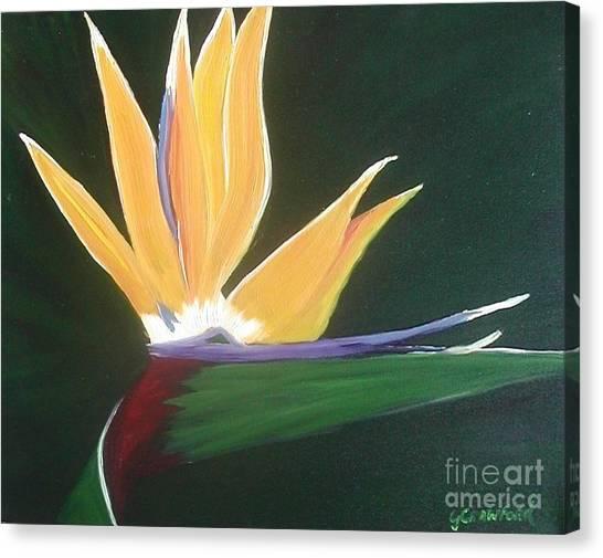 Passion Unfolding 3 Canvas Print