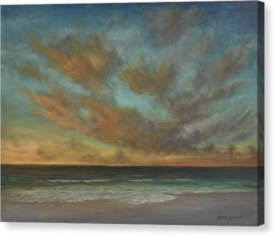 Passionate Sky By Alan Zawacki Canvas Print