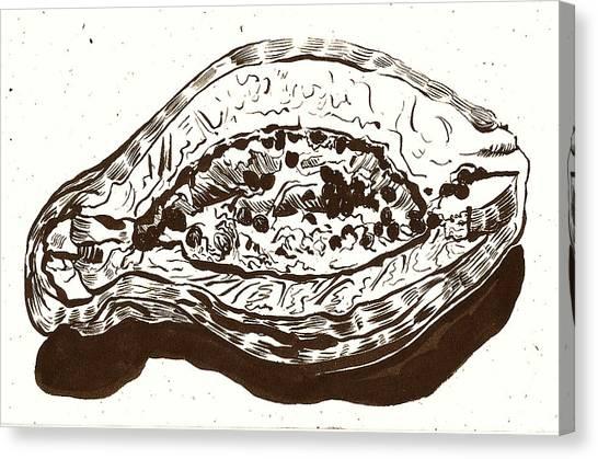 Passionfruit Canvas Print
