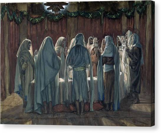 Passover Canvas Print - Passover by Tissot