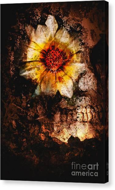 Sadness Canvas Print - Past Life Resurrection by Jorgo Photography - Wall Art Gallery