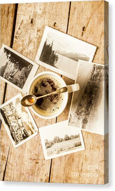 Tea Time Canvas Print - Past Time Tea by Jorgo Photography - Wall Art Gallery