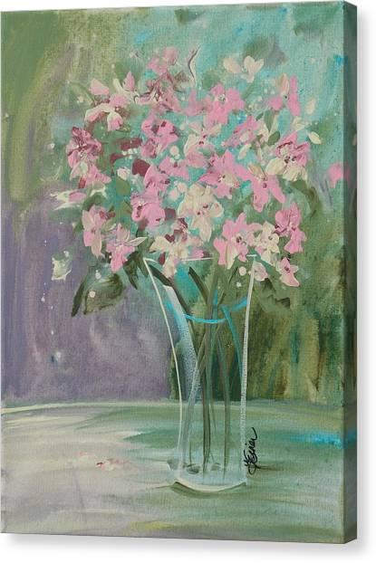 Pastel Blooms Canvas Print