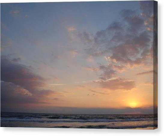 Pastel Breeze Canvas Print