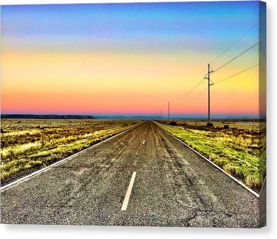 Pastel Morning Canvas Print