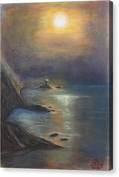 Pastel Msc 002 Canvas Print