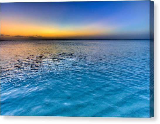 Pastel Canvas Print - Pastel Ocean by Chad Dutson